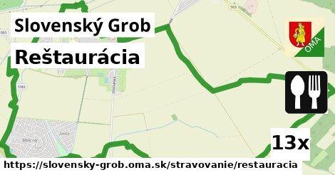 reštaurácia v Slovenský Grob