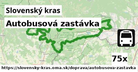 ilustračný obrázok k Autobusová zastávka, Slovenský kras