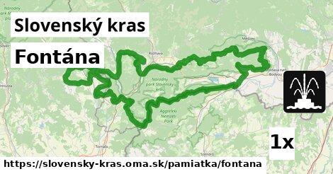 ilustračný obrázok k Fontána, Slovenský kras