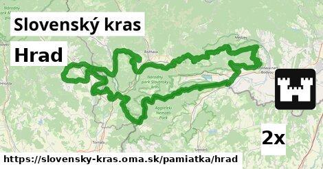 ilustračný obrázok k Hrad, Slovenský kras