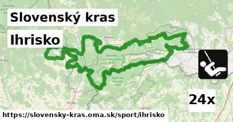 ilustračný obrázok k Ihrisko, Slovenský kras