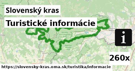 ilustračný obrázok k Turistické informácie, Slovenský kras