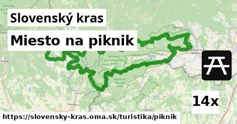ilustračný obrázok k Miesto na piknik, Slovenský kras