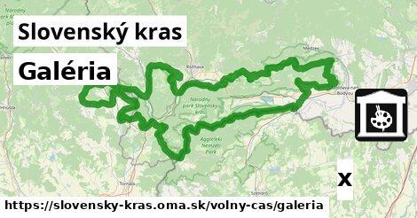 ilustračný obrázok k Galéria, Slovenský kras