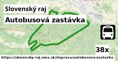 ilustračný obrázok k Autobusová zastávka, Slovenský raj