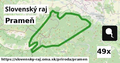 ilustračný obrázok k Prameň, Slovenský raj