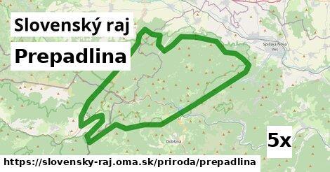 ilustračný obrázok k Prepadlina, Slovenský raj