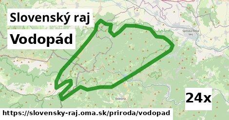 ilustračný obrázok k Vodopád, Slovenský raj