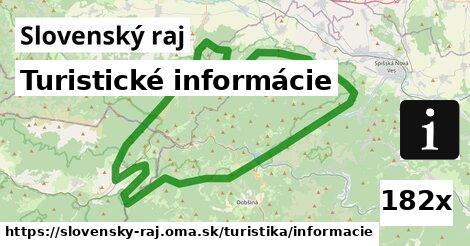 ilustračný obrázok k Turistické informácie, Slovenský raj