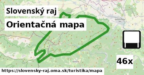 ilustračný obrázok k Orientačná mapa, Slovenský raj