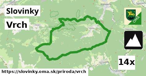 vrch v Slovinky