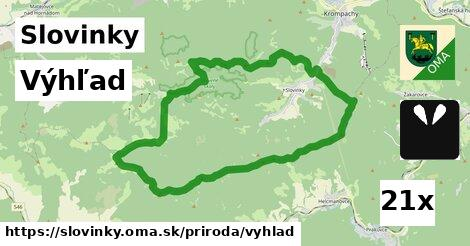 výhľad v Slovinky