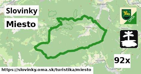 miesto v Slovinky