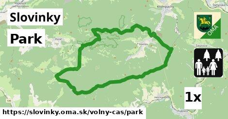 park v Slovinky