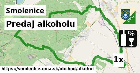 predaj alkoholu v Smolenice