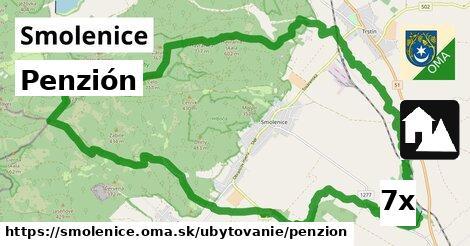 penzión v Smolenice