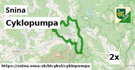Cyklopumpa, Snina
