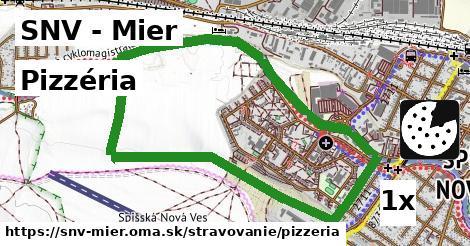 pizzéria v SNV - Mier