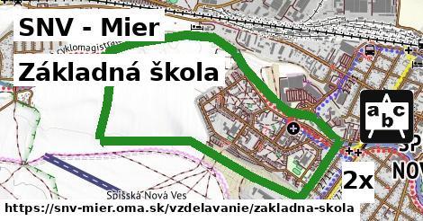 základná škola v SNV - Mier