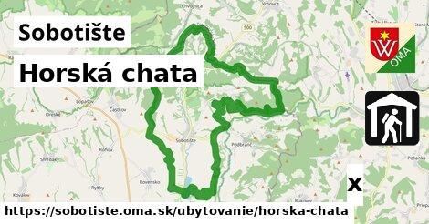 horská chata v Sobotište