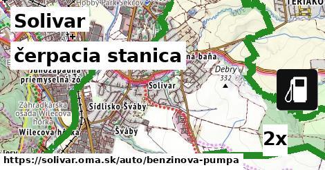 čerpacia stanica v Solivar