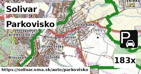 parkovisko v Solivar