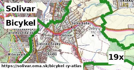 bicykel v Solivar