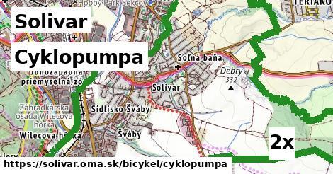 cyklopumpa v Solivar