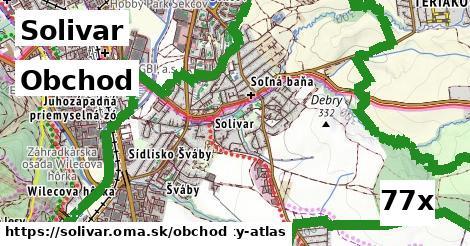 obchod v Solivar