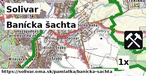 banícka šachta v Solivar