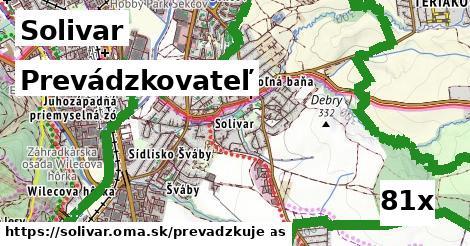 prevádzkovateľ v Solivar