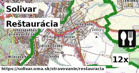 reštaurácia v Solivar
