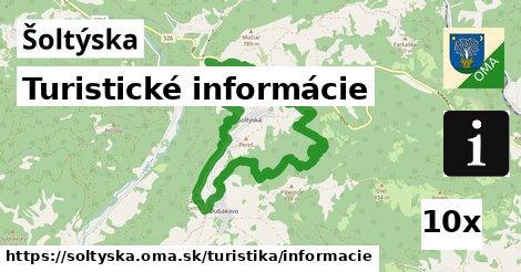 turistické informácie v Šoltýska
