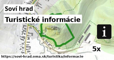 turistické informácie v Soví hrad