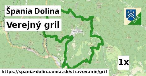 verejný gril v Špania Dolina
