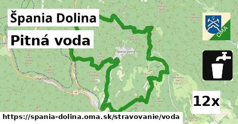 pitná voda v Špania Dolina
