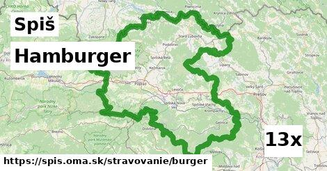 ilustračný obrázok k Hamburger, Spiš