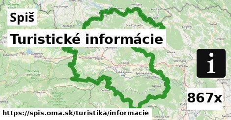 ilustračný obrázok k Turistické informácie, Spiš
