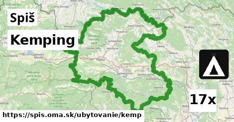 ilustračný obrázok k Kemping, Spiš