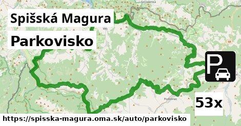 ilustračný obrázok k Parkovisko, Spišská Magura