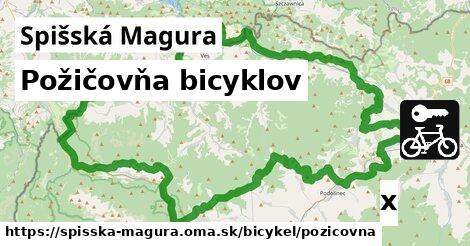 ilustračný obrázok k Požičovňa bicyklov, Spišská Magura