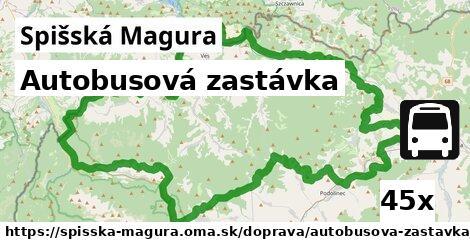 ilustračný obrázok k Autobusová zastávka, Spišská Magura