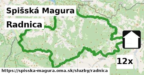 ilustračný obrázok k Radnica, Spišská Magura