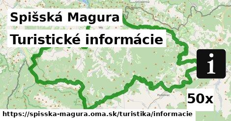 ilustračný obrázok k Turistické informácie, Spišská Magura