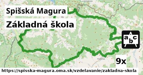 ilustračný obrázok k Základná škola, Spišská Magura