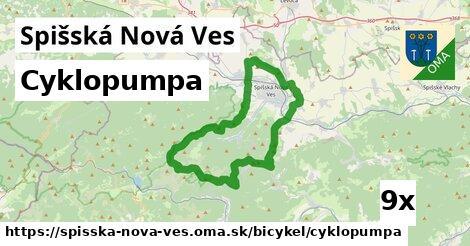 ilustračný obrázok k Cyklopumpa, Spišská Nová Ves