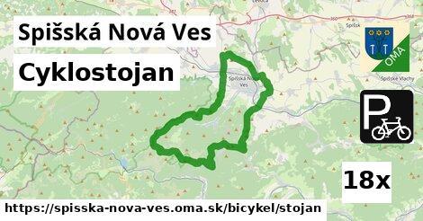 cyklostojan v Spišská Nová Ves