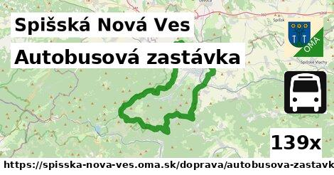 ilustračný obrázok k Autobusová zastávka, Spišská Nová Ves