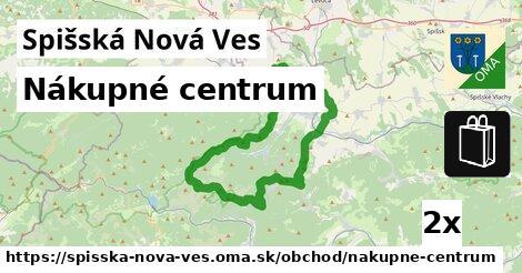 nákupné centrum v Spišská Nová Ves