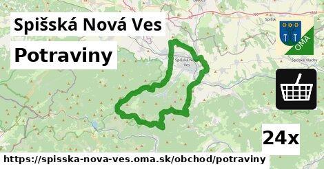ilustračný obrázok k Potraviny, Spišská Nová Ves